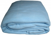 Cosy Fleece - Alta Luxury Hotel Fleece Blanket, King, Blue