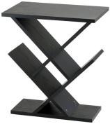 Adesso Zig-Zag Accent Table, Black