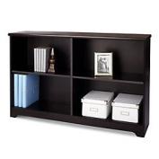 Realspace(R) Magellan Collection 2-Shelf Sofa Bookcase, 70cm .H X 120cm .W X 29cm .D, Espresso