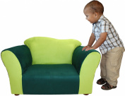Fantasy Furniture Wave Chair, Green