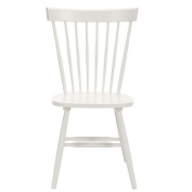 Safavieh Set of 2 Parker Side Chairs, Grey