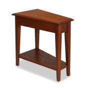 Leick Furniture Favourite Finds Recliner Wedge Table in Medium Oak