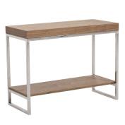 Abbyson Living Newbury Console Table, Walnut