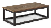 ZUO ERA Civic Centre Long Coffee Table, Distressed Natural