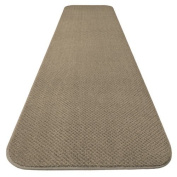 Skid-resistant Carpet Runner - Camel Tan - 7.3m X 90cm . - Many Other Sizes to Choose From