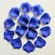 1000pc Royal Blue Wedding Table Decoration Silk Rose Petals Flowers Confetti 5cm Supplies Wholesale