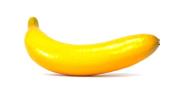 6pc Artificial Banana Bananas - Plastic Yellow Decorative Fruit - Six Pieces