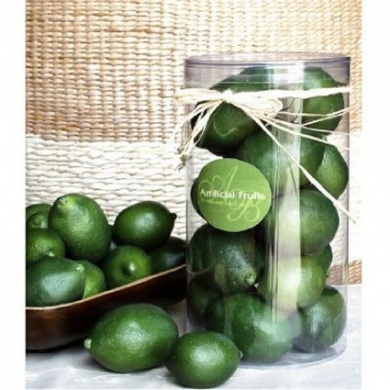 Artificial Faux Fake Fruit Lime