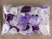 300pc Mixed Colour Rose Petals Purple,lavender,white Wedding Table Decoration