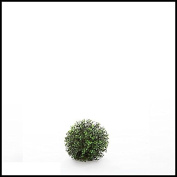 15cm Diameter,artificial, Ornamental Boxwood Sphere, Indoor Rated