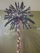 2.1m Lighted Palm Tree - 300 Lights 78 Tips