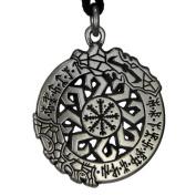 Invincibility in Battle Aegishjalmur Rune Pendant Norse Asatru Viking Jewellery Talisman Necklace