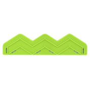 Single Large Chevron Onlay Mould by Marvellous Moulds