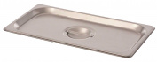 Browne Foodservice CP8132 Stainless Steel Steam Table Pan Cover, One-Third