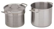 Royal Industries Inc NSF Stainless Steel Pasta Cooker with Lid, 11.4l