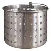 Tiger Chef 18.9l Aluminium Steamer Insert Basket for Stock Pot Steam, Boil, Fry Accessory Basket