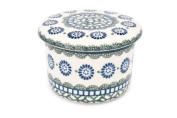 Polish Pottery Maia French Butter Dish