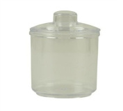 Thunder Group Plastic Condiment Jar with Lid, 210ml