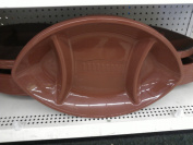 Chip and Dip Tray- Football Shape