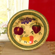 Tuscan Collection Deluxe Hand-Painted Serving Platter