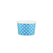 120ml Stock-coloured Yoghurt Paper Cups - 1000 Count