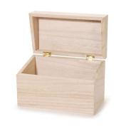 Wood Recipe Box
