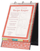 C.R. Gibson Vertical Recipe Keeper Flip Stand, Savoury Eats