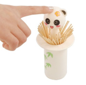 Billow Plastic Chewing Tooth Pick Holder . Panda Cartoon Lovely Automatic Retractable Pocket Toothpick Dispenser Holder Cases
