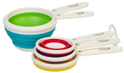 Prepworks from Progressive Collapsible Measuring Cups, Set of 5