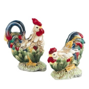 Farm Amimal Rooster S/P Salt & Pepper Shakers Set