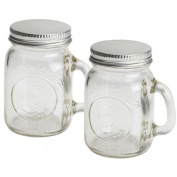Olde Thompson 3771-G Mason Jar Salt & Pepper Shaker Set
