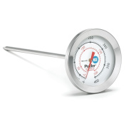 Polder Candy/Deep Fry Thermometer, Stainless Steel