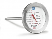 Polder Dial Meat Thermometer, Stainless Steel