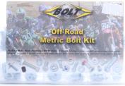 Bolt Motorcycle Hardware (2004-PP) Japanese Off-Road Metric Universal Bolt Kit
