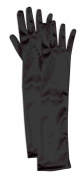 Forum Child Opera Satin Gloves, Black