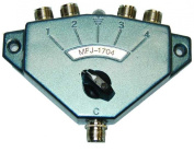 4 POSITION COAX SWITCH 0-500 MHz, 2.5kW centre GROUND [Electronics]