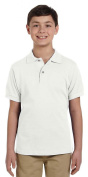Jerzees 440Y Youth Cotton Pique Polo