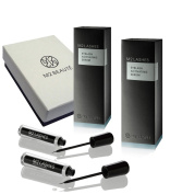 M2Lashes Eyelash Activating Serum 6-months Eyelash Growth Treatment 2x5ml & M2Beaute Gift Box