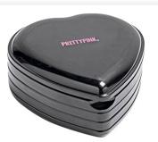 Pretty Pink Heart Shaped Cosmetic Box and Make-Up Set Beaufitul .