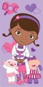 Disney Doc McStuffins towel cotton beach bath towel pink purple childrens girls 100% official item great gift ideas