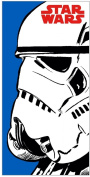 STAR WARS TOWEL BEACH BATH TOWEL FORCE CHILDRENS BOYS 100% OFFICIAL ITEM BLUE WHITE RED