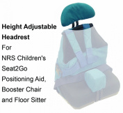 Height Adjustable Headrest For Children's Seat2Go Positioning Aid, Booster Chair and Floor Sitter