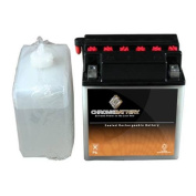 Chrome Battery M00038-10000 YB16CL-B ATV Battery for BRP - Can-Am - Quest 650CC 02-05