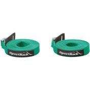 SportRack 5.5m Universal Tie Down Straps, Green