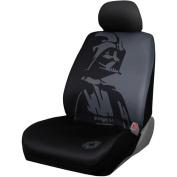 Plasticolor Darth Vader Low Back Seat Cover, Black