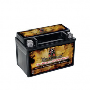 Pirate Battery PB-M00039-10000 YTX12A-BS High Performance Maintenance Free Sealed AGM Motorcycle Bat