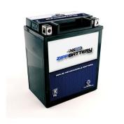 Zipp Battery ZB-M00031-10000 YTX14AHL-BS High Performance Maintenance Free Sealed AGM Motorcycle Bat