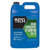Super Tech 80W-90 High Performance Gear Oil, 3.8l