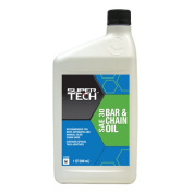 Super Tech SAE 30 Bar and Chain Oil, 0.9l