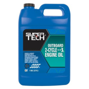 Super Tech TC-W3 Outboard 2-Cycle Oil, 3.8l